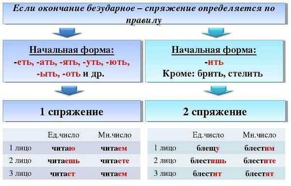 Спр глаголов – Спряжения глаголов – как определить, таблица 1 и 2 спряжения  в русском языке, правило и исключения - Управленческое образование - ЕГЭ,  ОГЭ, общеобразовательные предметы
